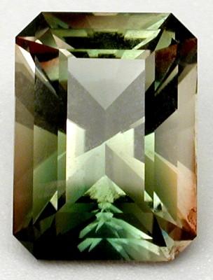 faceted oregon sunstone gem