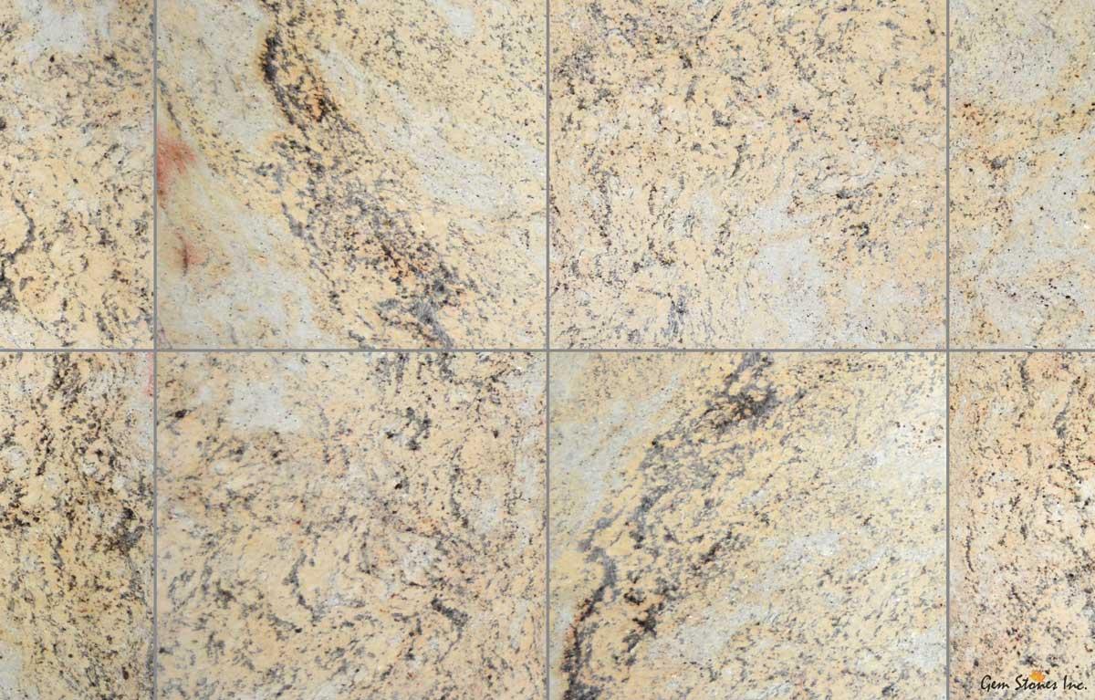 ivory brown granite tile