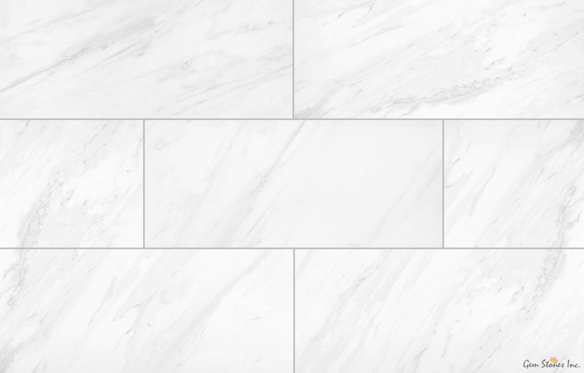 volkas white porcelain tile
