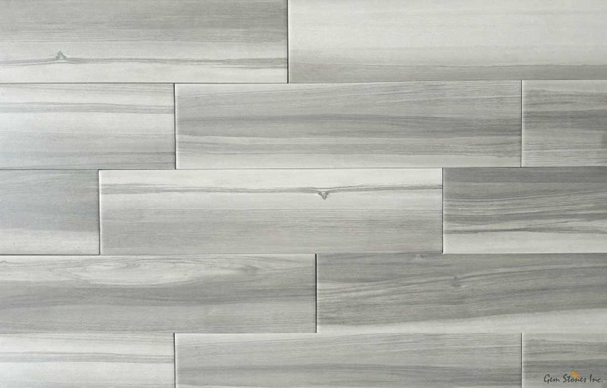urban grey white 6 x 24 matte porcelain tile