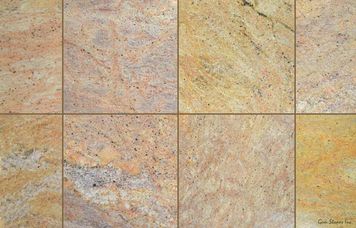 madura gold granite tile