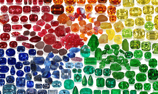 Story of Gemstones is the title of this image.