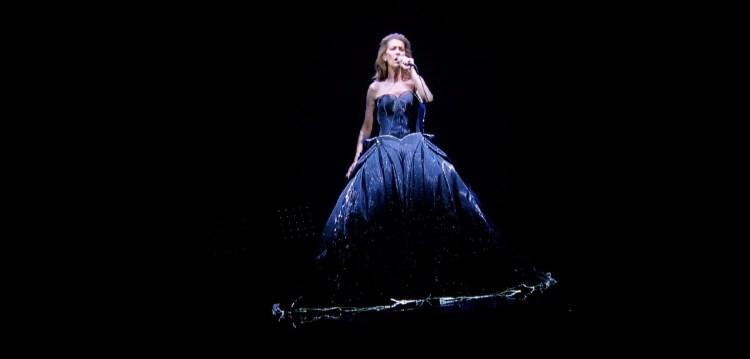 Celine Dion on Stage - Leeds