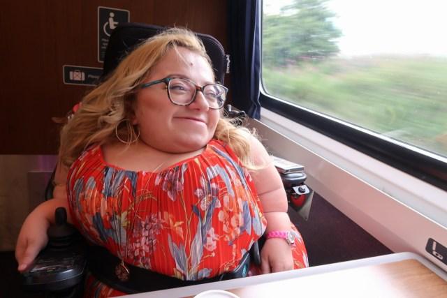 Gem on Train