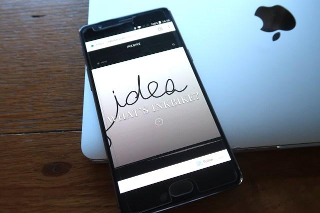 Inkbike phone