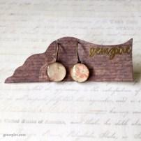 Sweet Floral Dangling Earrings @ $11.90