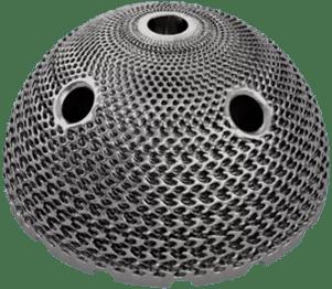 Acetabular Cup designed using Sulis Lattice, our lattice generation software