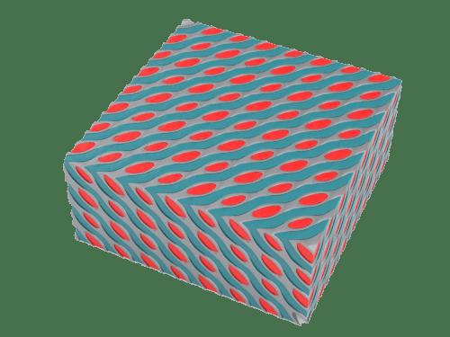 Multi domain lattice Schwartz D Small