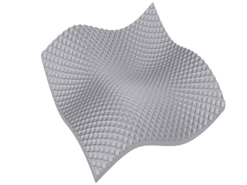 Surface texturing for additive manufacturing