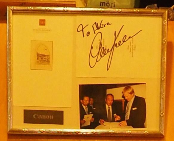オリバーカーンのサイン!