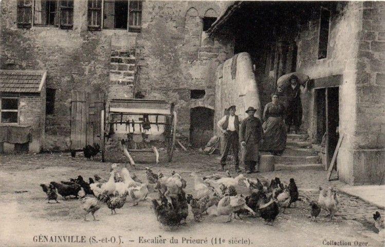 maison du village ferme de genainville