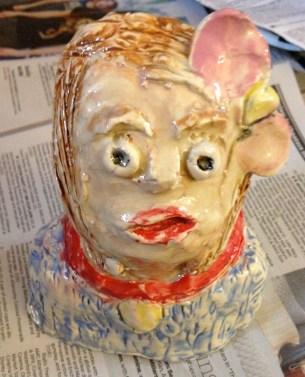 Glazed Bust