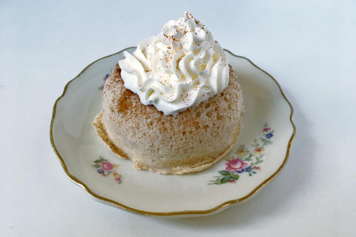 Kokosnuss Tassenkuchen | keto, glutenfrei, zuckerfrei