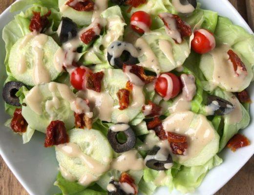 tahini salat