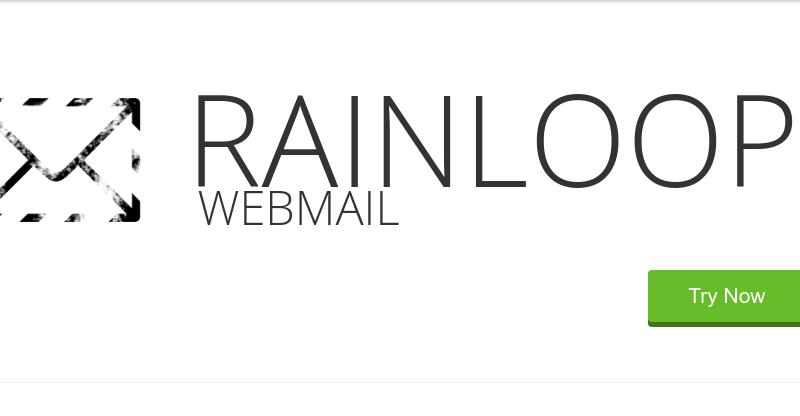 Rainloop webmail