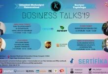 Photo of Business Talks'2019  19 kasım Salı günü