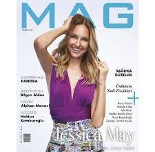 Photo of Brezilyalı güzel model ve oyuncu Jessica May, MAG Temmuz sayısı için objektif karşısına geçti.