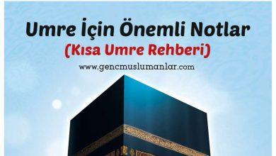 Photo of Kısa ve Kolay Umre Rehberi (PDF)