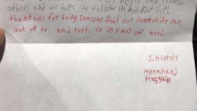 Photo of 4. Sınıf Öğrencisinden Dokunaklı Bir Mektup Alan İmam