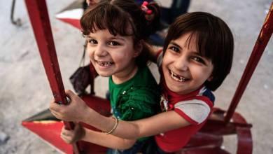 Photo of Gutalı Çocukların Roketlerden Yapılma Salıncakları