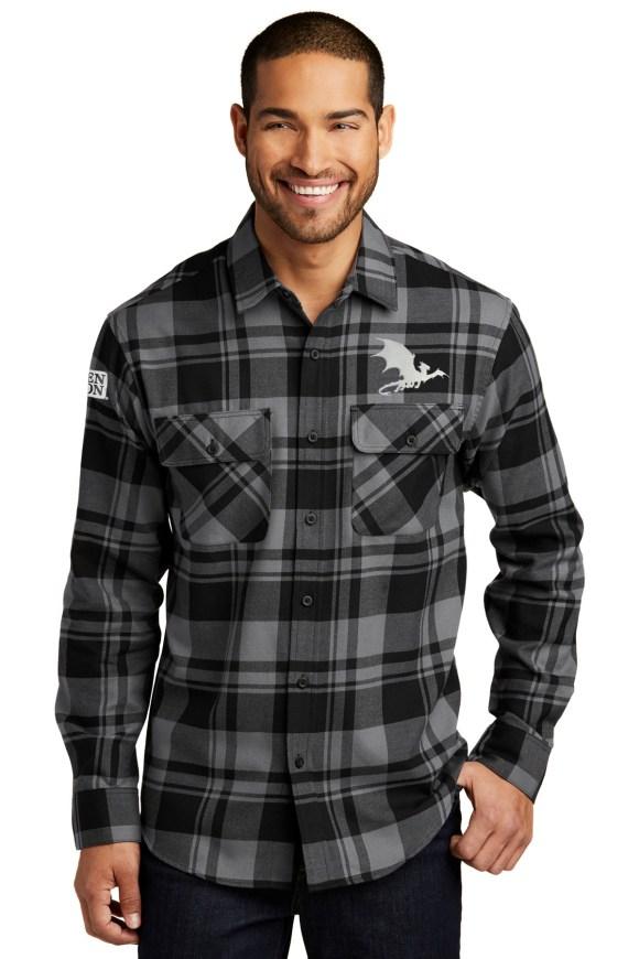 Shadow Dragon Flannel Shirt