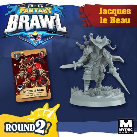 Jacques le Beau, a new champion