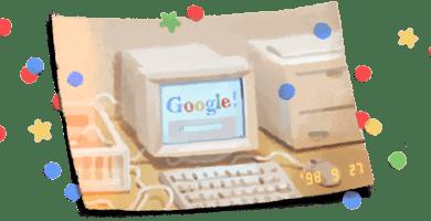 google comemora aniversario