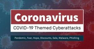 Coronavírus malware attacks