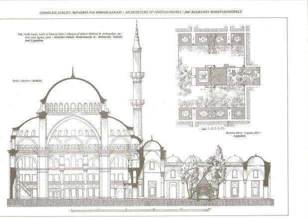fatih cami proje çizimi