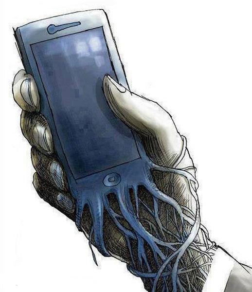ما الذي يدفع البشر إلى الالتصاق بهواتفهم؟