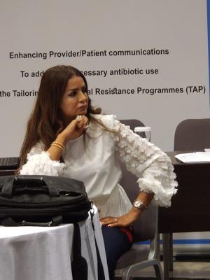 """دة. عصمت حوسو - ورشة عمل لأطباء وزارة الصحة بالتعاون مع """"منظمة الصحة العالمية WHO"""" - مهارات التواصل والحزم والتفاوض"""