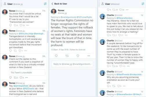 anti-trans extermists vs HRC