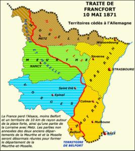 Traité de Francfort 10 mai 1871