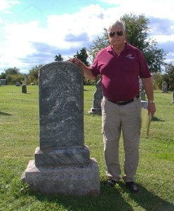 Larry & HC Headstone Without Rubbing