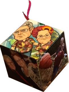 Jackie and Larry Cube