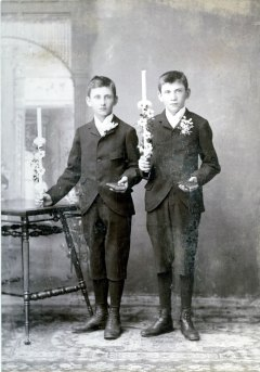 Charles (1881-1974) and William (1883-1956) Haupers