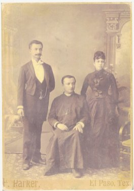 Albert, Elias and Francisca (Luján) Le Breton