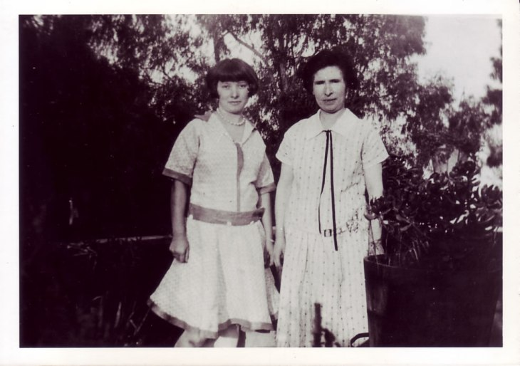 Jesüs Alvarado with her daughter Cecilia