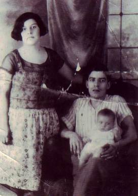 Consuelo (Chavez) and Peter Stoltz with son Peter Jr.