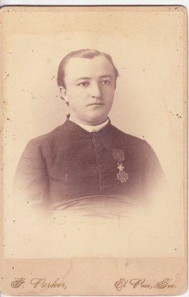 Elias Victor Le Breton (?-1894), brother-in-law of Francisca (Luján) Le Breton