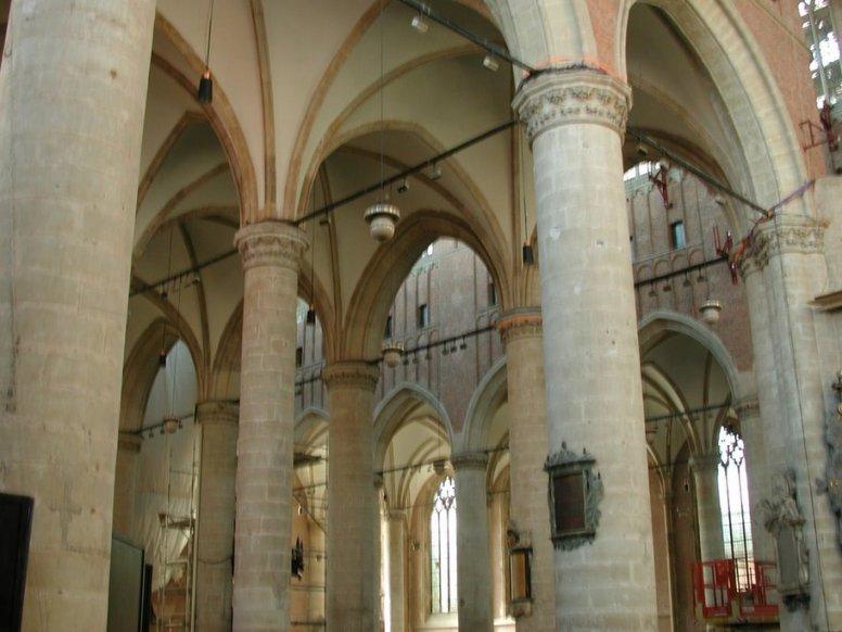 St. Peter's Church (Pieterskirk) in Leiden