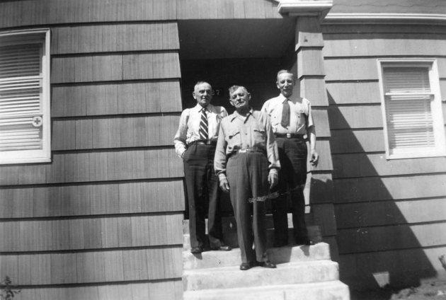 Peter II, George and Louis Stoltz, 1940