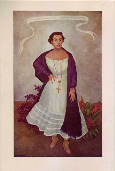 Portrait of Enriqueta Goldbaum de Dávila (~1900-?) by Diego Rivera