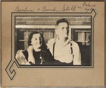 Valentin Egnatus Stoltz (1874-1943) and Inez Mae (Lines) Stoltz (1909-1972)