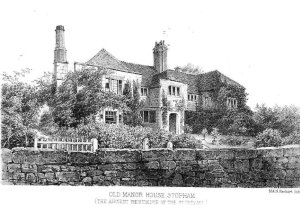 The ancestral home of the de Stopham Bartelotts, Stopham, Sussex, England