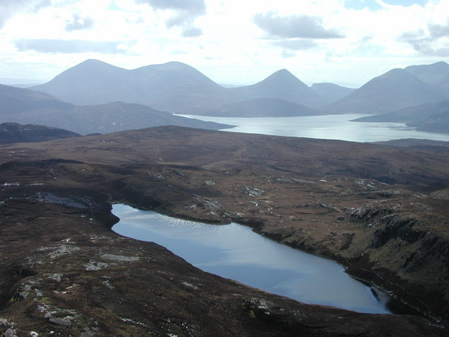 Loch na Mna. Image source: Source From geograph.org.uk (Peter Standing)
