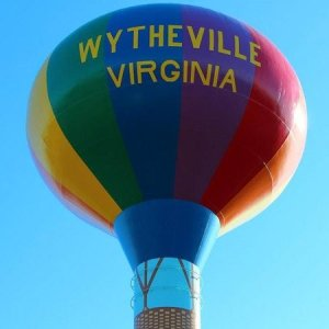 welcome to Wytheville water tower
