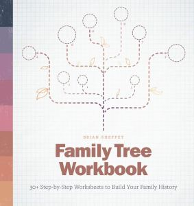 Family Tree Workbook front cover