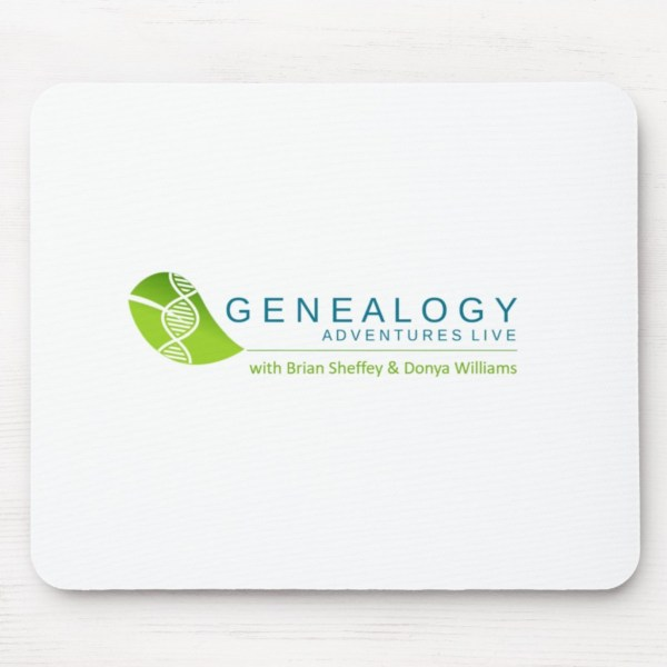 Genealogy Adventures Live! mouse pad