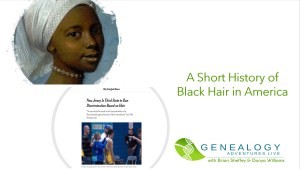 A short history of black hair in America image